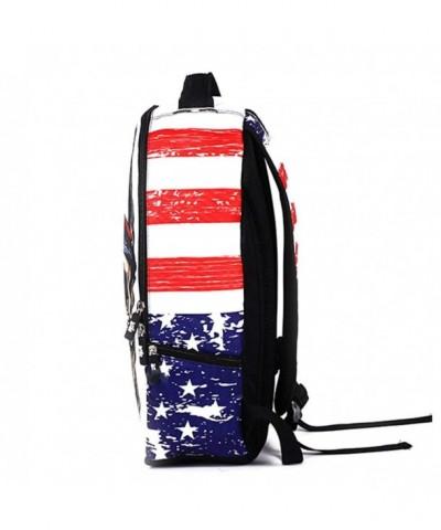 Skeleton Backpack Leisure Bookbag Shoulder