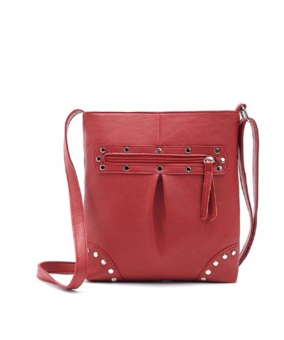 Sandistore Handbag Leather Shoulder Messenger