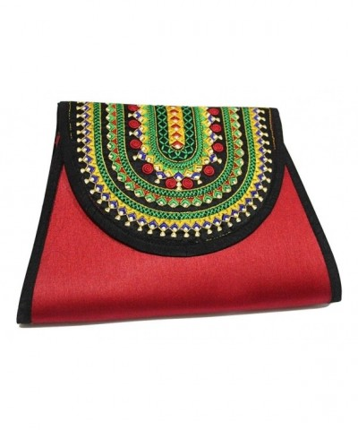 Lonika Crossbody Handmade Embroidery Envelope
