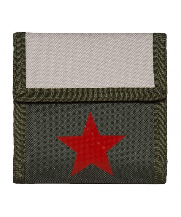 Red Star Army Wallet Olive