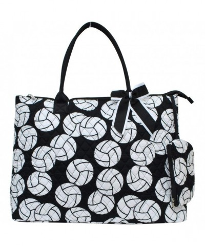 Vollyball Print NGIL Quilted Overnight