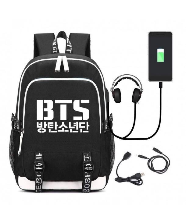 Backpack Student School Bookbag Charging