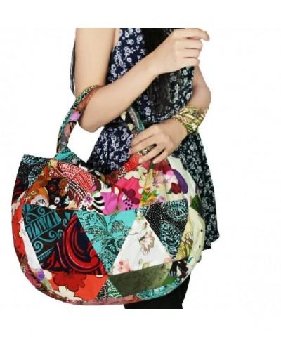 kilofly Bohemian Shoulder Handbag Patchwork