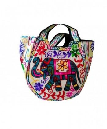 Indian Handmade bag Women Shoulder bag Elephant Embroidery bag Vintage bag