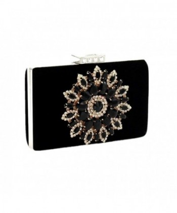 Shiratori Glitter Rhinestone Handbags Clutches