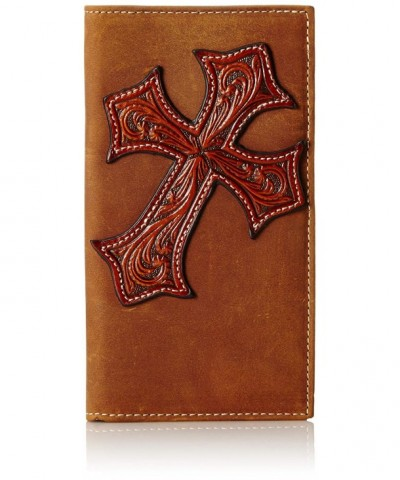 Nocona Diagnol Cross Rodeo Brown