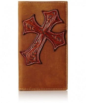 Nocona Diagnol Cross Rodeo Brown