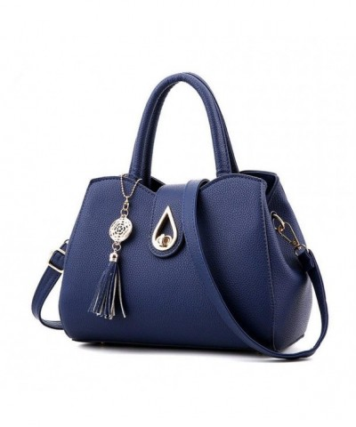 H Tavel Satchel Dumpling Shoulder Handbags