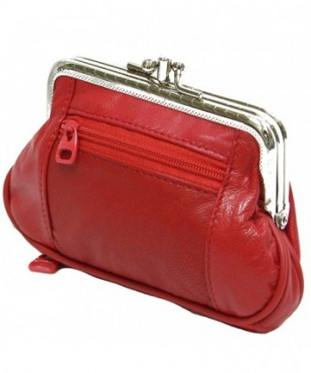 Womens Leather Wallet Organizer Closures