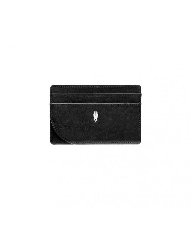 Blocking Pocket Leather Wallet traveling