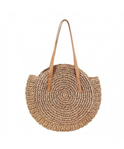 Straw Crossbody WZTO Summer Shoulder