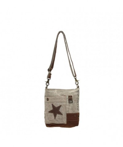 Myra Bag Leather Upcycled Corssbody