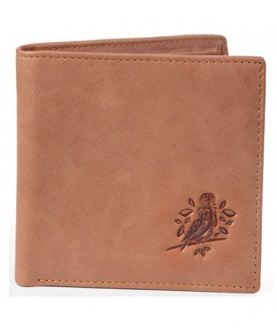 RFID Wallets Men Bifold Leather