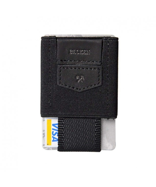 Becken Leather Elastic Minimalist Wallet