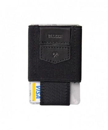 Becken Leather Elastic Minimalist Wallet