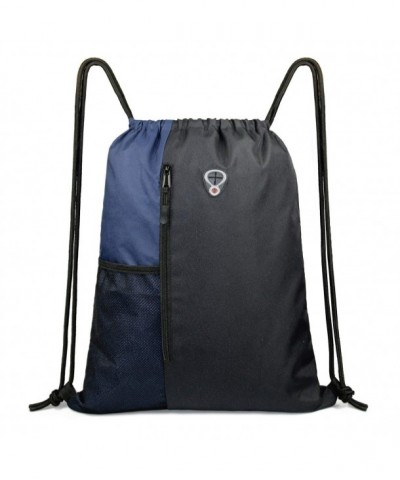 Drawstring Backpack Sports Children Pockets