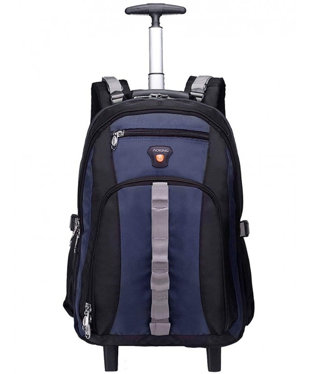 Resistant Business Rolling Backpack Compartment