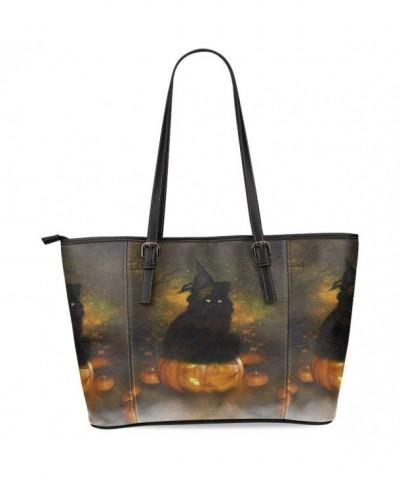 InterestPrint Halloween Leather Shoulder Handbags