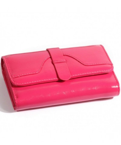 Genuine Leather Wallet Women Color