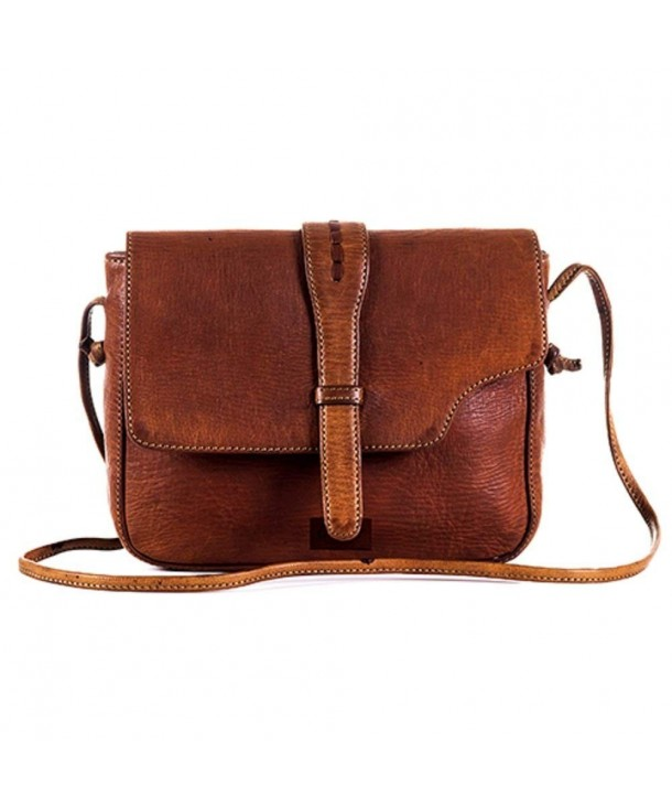 Genuine Brown Leather Square Goatter