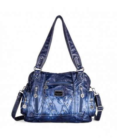 Fashion Handbags Satchel Shoulder Leather