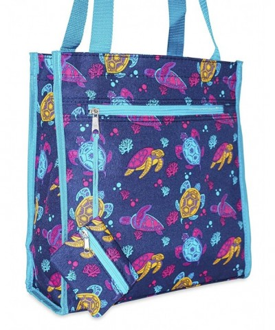 Ever Moda Sea Turtle Tote