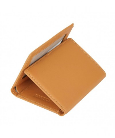 Banuce Womens Genuine Leather Trifold