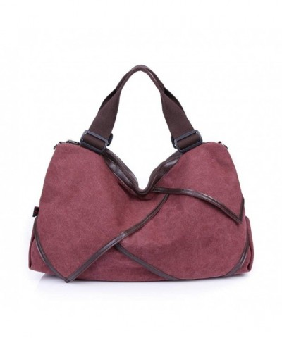 ZENTEII Women Vintage Canvas Shoulder