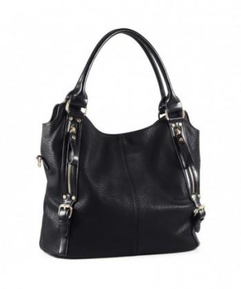 Plambag Women Leather Handbag Large