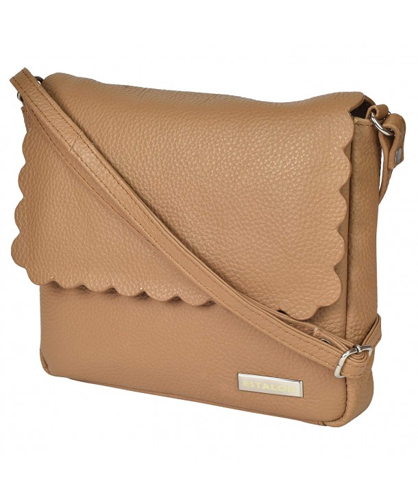 Leather Crossbody Purse Women Small