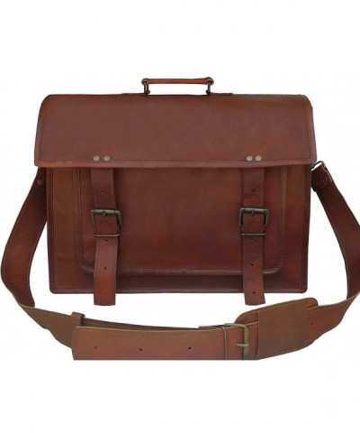 Leather Messenger Handmade Laptop Satchel