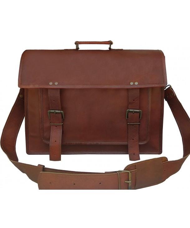 Leather Messenger Handmade Laptop Satchel