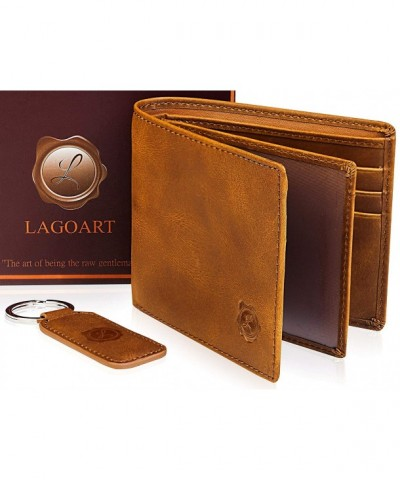 Genuine Leather Bifold Wallets Pocket