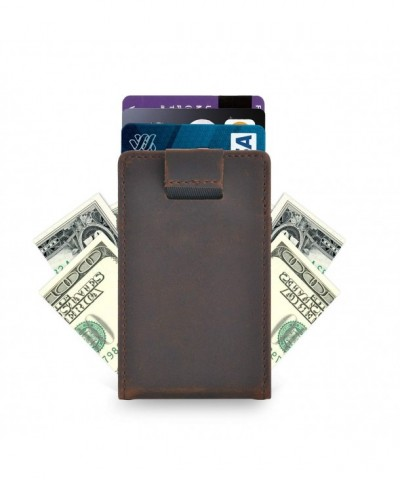 Mens Slim Front Pocket Wallet