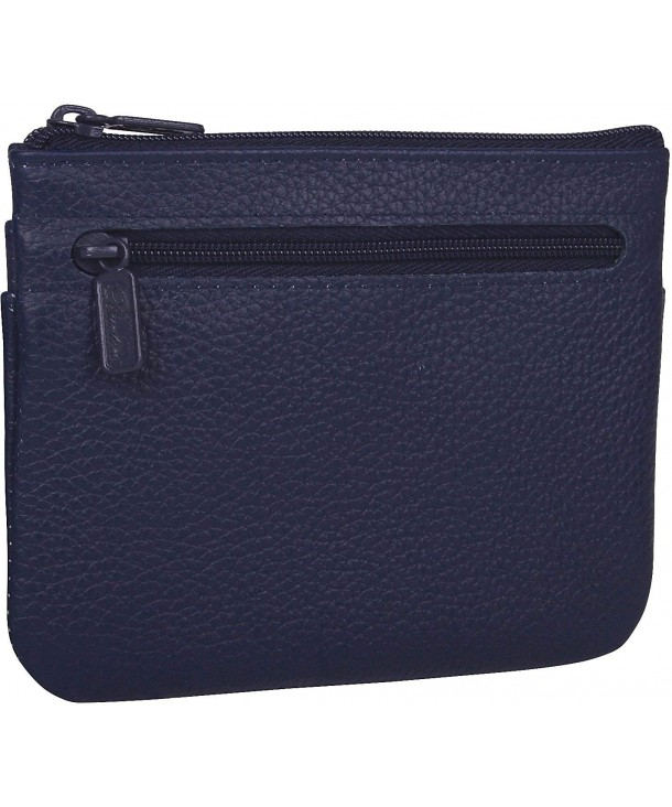 Buxton Womens Leather Coin Wallet