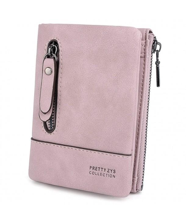 UTO Leather Wallet Holder Zipper
