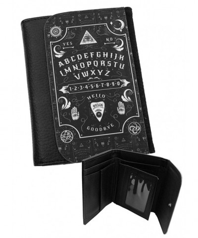 OUIJA BOARD Leather Bi Fold Wallet