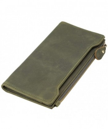Polare Vintage Natural Leather Checkbook