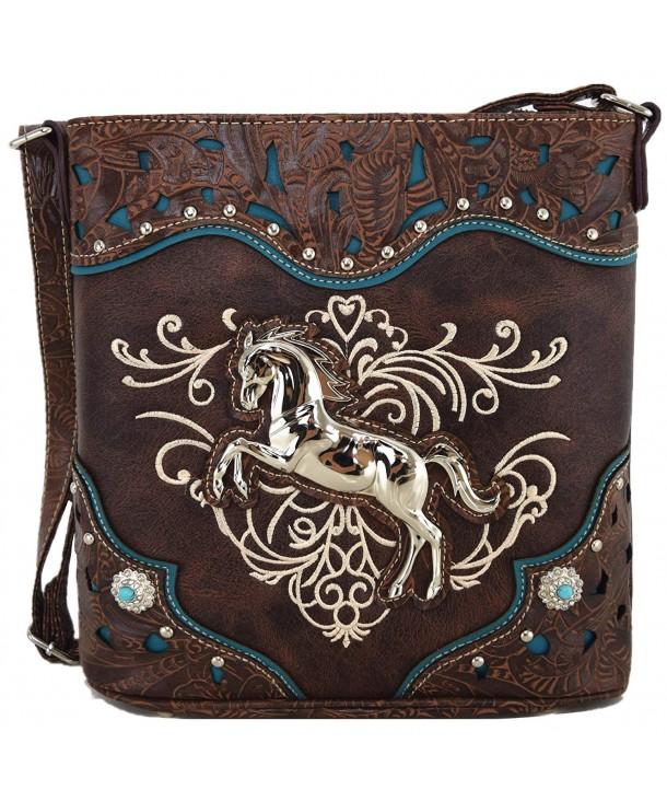 Western Cowgirl Handbags Concealed Shoulder