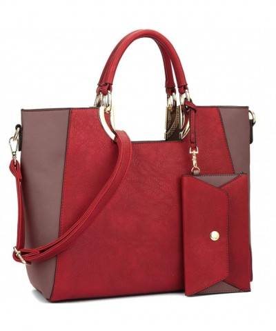 Handbag Structured Designer Shoulder Matching