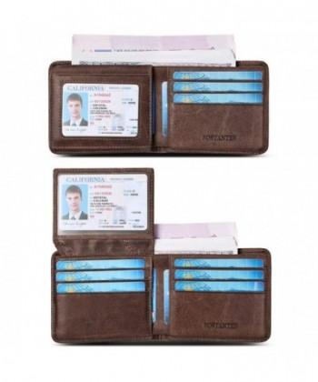 BOSTANTEN Genuine Leather Wallets Blocking