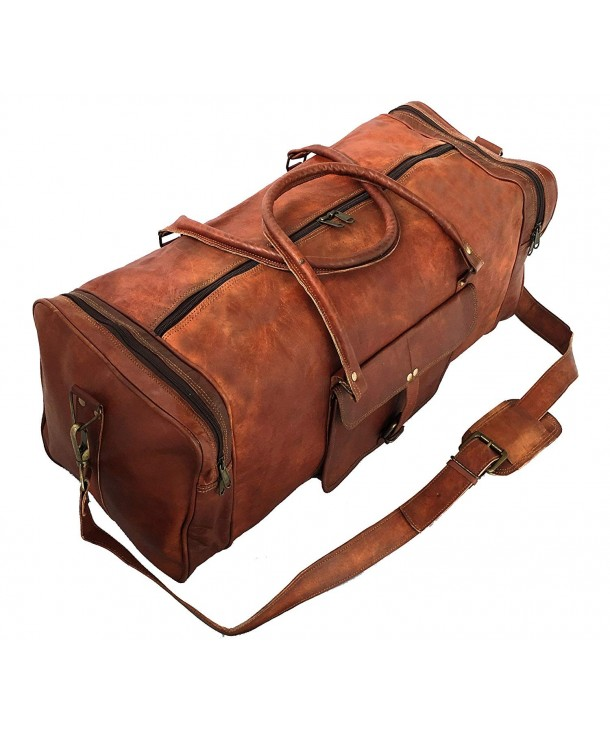 29ffbae56dc253 ... Duffel Travel Gym Sports Overnight Weekend Leather Bag BY -  CP186T0NS3D. Leather Overnight Weekend VINTAGE COUTURE