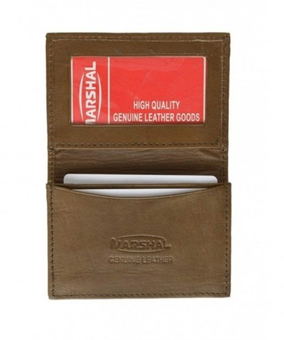 Genuine Leather Expandable Credit Business