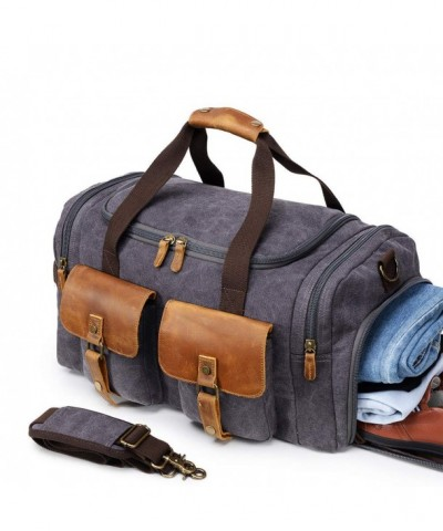 Overnight Weekender Shoulder Compartments Airplanes