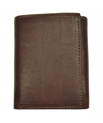 Fashion Leather Wallet Tri fold Design