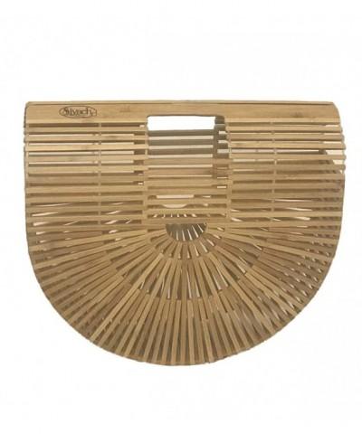 Sivach Handmade Bamboo Tote Handbag