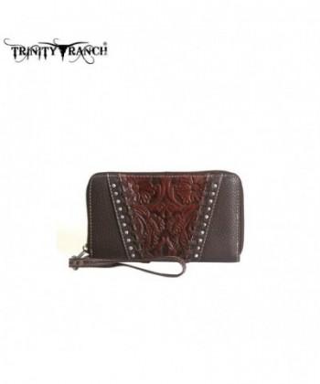 TR12 W003 Montana West Trinity Wallet Coffee