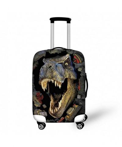 HUGS IDEA Dinosaur Protective Suitcase