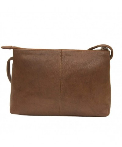 Classic Leather Cross Body Toffee