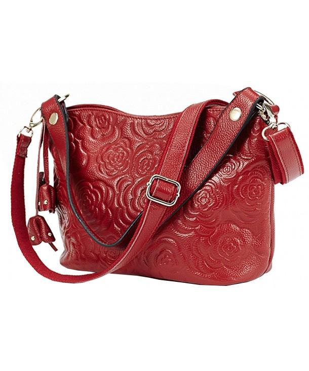 Leather Top handle Shoulder Handbag Messenger